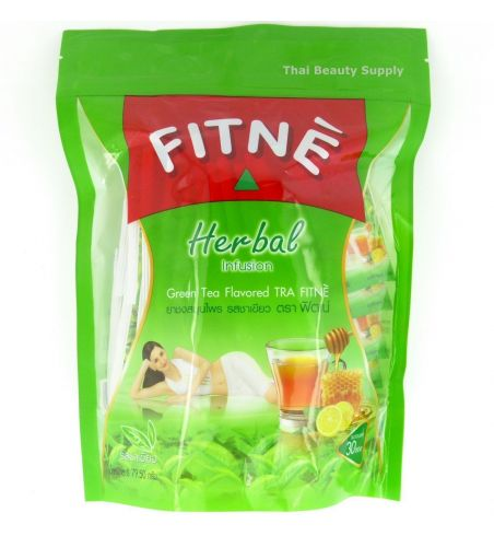 Fitne green tea infusion bags 8