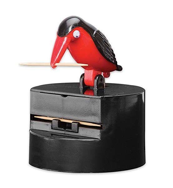 Oiseau distributeur de cure-dents