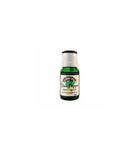 Huile essentielle pure de poivre noir en flacon de 10 ml