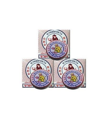 3 boxes 4g Monkey Balm