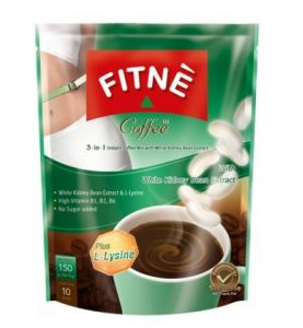 Café au haricots blancs (collagène, L-lysine)