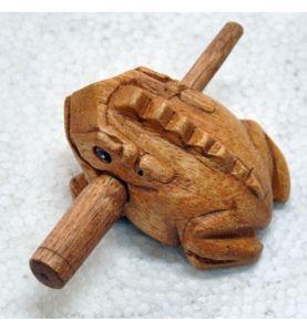 Grenouille en bois Made in Thaïlande