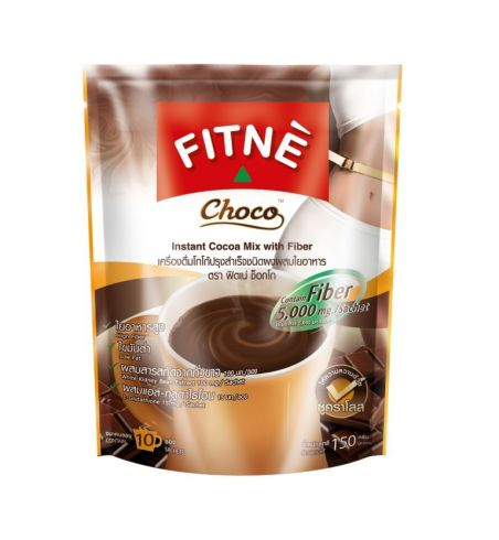 FITNE Slimming Chocolate with White Bean Beans + L-Glutathione