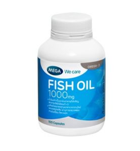 HUILE DE POISSON + OMEGA 3 de MEGA We Care