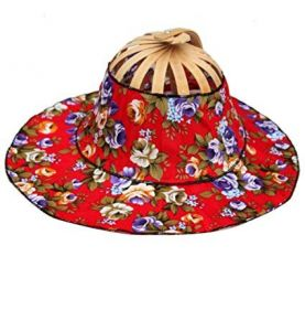 Foldable Chinese Hat 2 in 1