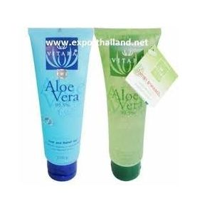 Pack gel Aloe vera 1 bleu 120g + 1 vert 120g.