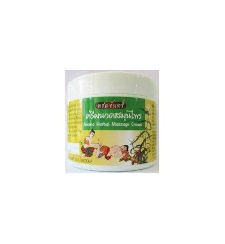 Crème de massage des pieds aux herbes Thaies