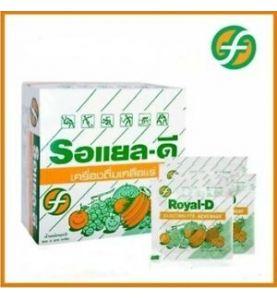 Royal-D Electrolyte Boisson gout orange 10 sachets