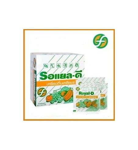 Electrolyte Boisson gout orange 50 sachets ( réhydratation)