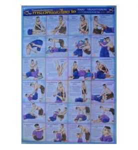 24 postures du massage Thai Nr4