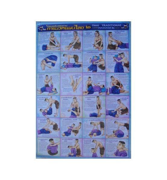 24 postures du massage Thai Nr4