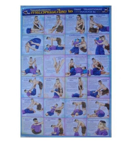 24 TRADITIONAL THAI MASSAGE POSTURES Nr4