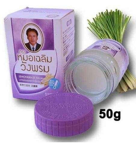 Wangphrom hot Thai herbal balm 50 grams