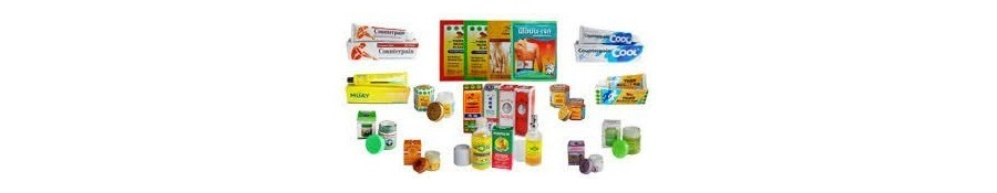 Les baumes anti douleurs naturels de Thailande